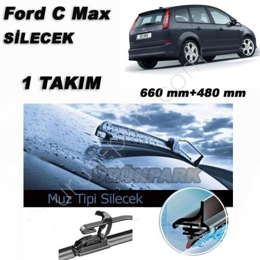 Ford Focus C Max Silecek Focus C Max Muz Tip Silecek Takim Urun Park Oto Aksesuar Istanbul Oto Koltuk Kilifi Oto Paspas Bagaj Havuz Urunleri