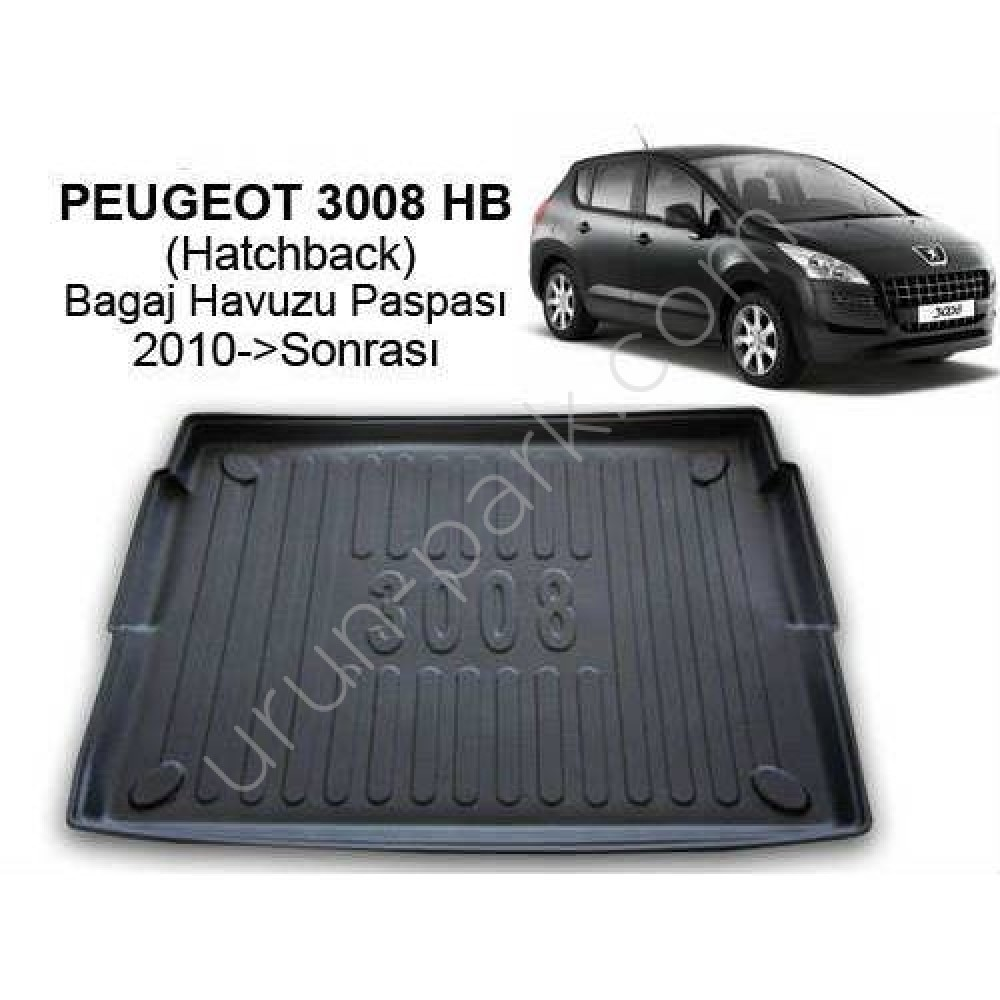 Peugeot 3008 Hb Bagaj Havuzu Paspasi 2010 Sonrasi Urun Park Oto Aksesuar Istanbul Oto Koltuk Kilifi Oto Paspas Bagaj Havuz Urunleri