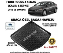 Ford Focus 4 Sedan Bagaj Havuzu Focus 4 Sedan Yüksek Zemin Bagaj