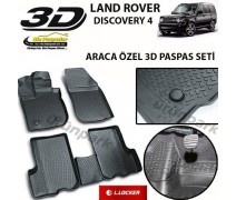 Land Rover Discovery 4 3D Paspas Seti Discovery 4 Havuzlu 3D Pasp