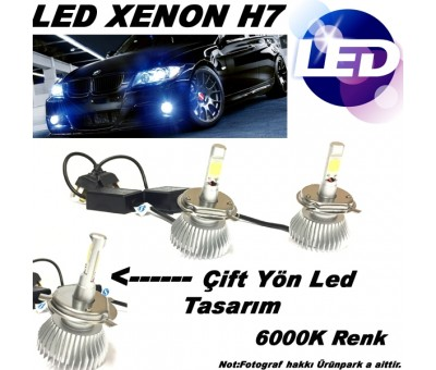 Led Xenon H7 Led Far H7 Seti 6000k