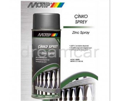 Motip Çinko Sprey 400 Ml. Hollanda Malı