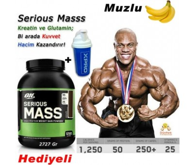 Optimum Serious Mass 2727 gr HEDİYELİ